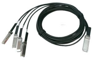 QSFP28 to 4 x 25G SFP28 fanout DAC