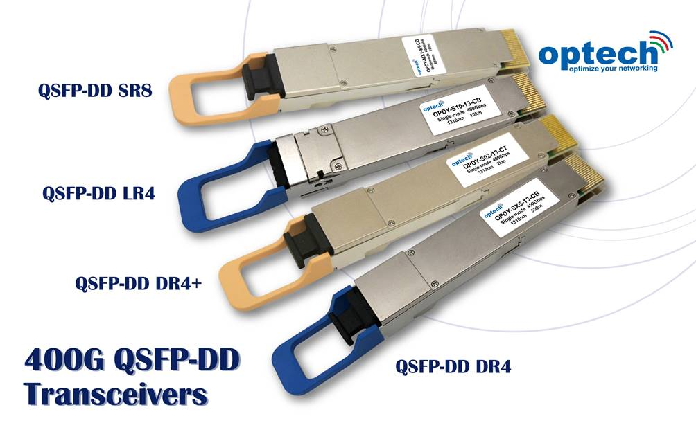 400G QSFP-DD transceivers