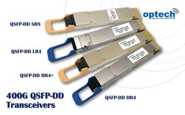 400G QSFP-DD transceivers