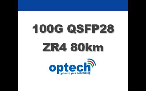 100G QSFP28 ZR4 80km